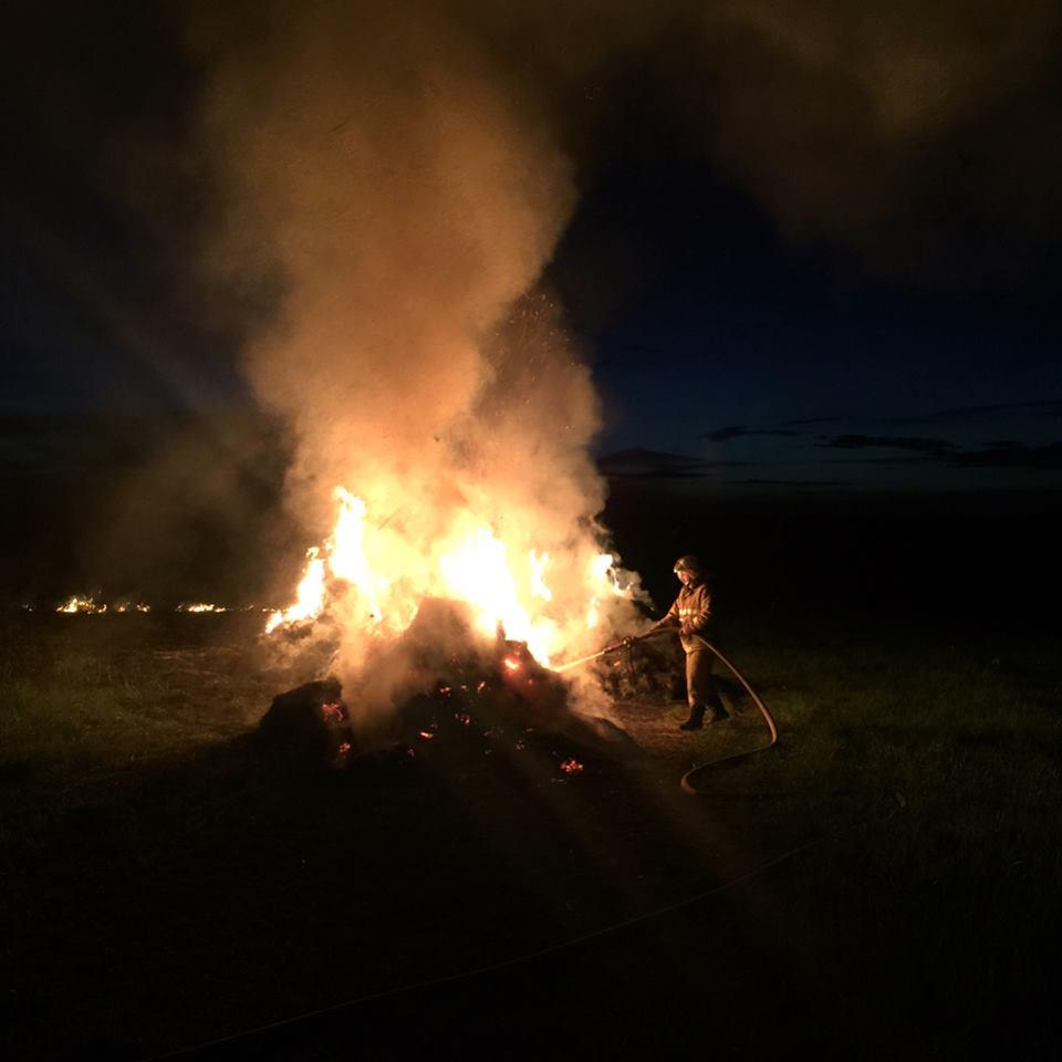 Пожар в деревне Дорохино